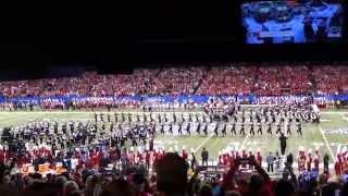 OSUMB 01 01 2015 Pregame and Script Ohio at Sugar Bowl Ohio State vs Alabama