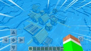 UNDERWATER VILLAGE in Minecraft Pocket Edition!