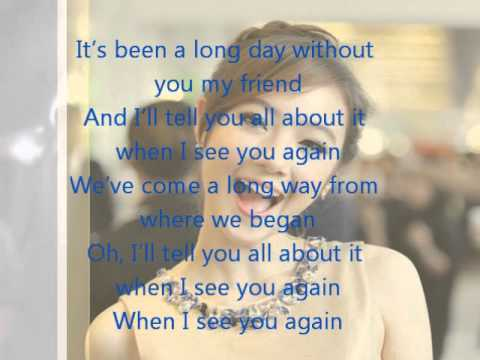 See You Again - Charlie Puth (Demo version) cover