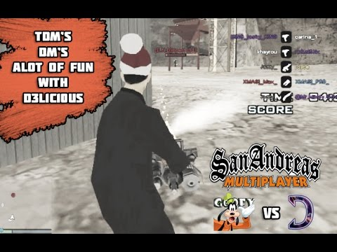 Wanna die ? Ft.D3L1C10US (San Andreas multiplayer)