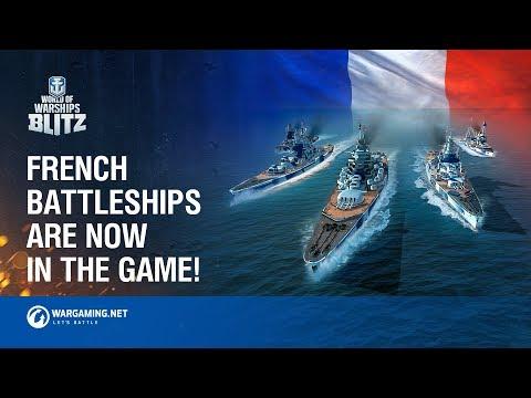 New French Battleships Steaming Towards World of Warships Blitz