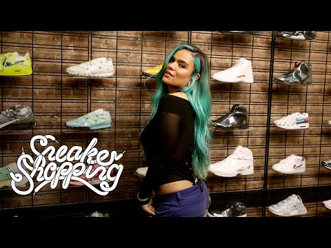 Karol G Goes Sneaker Shopping With Complex
