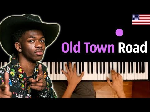 Lil Nas X - Old Town Road ● караоке | PIANO_KARAOKE ● ᴴᴰ + НОТЫ & MIDI