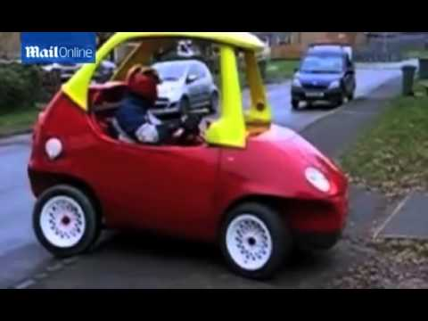 Adult version of a COZY COUPE that can do 70 mph