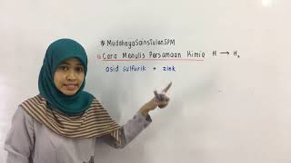 PTTI KIMIA SPM : Cara Menulis Persamaan Kimia