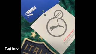 Nuove Maglia Calcio Italia Terza UEFA Euro 2020 Unboxing