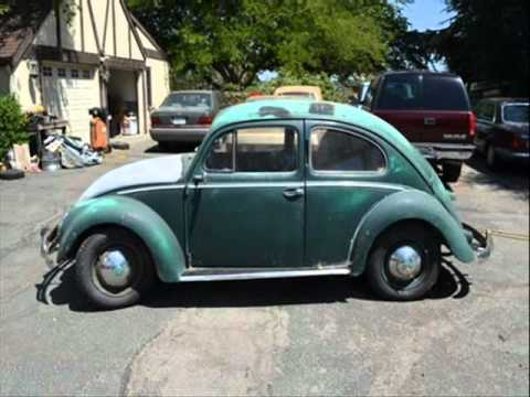 1953 RARE VW Beetle BARN FIND SOLID - YouTube