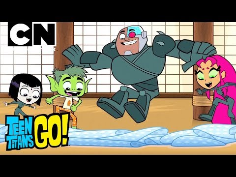 The Art of the Ninja | Teen Titans Go! | Cartoon Network