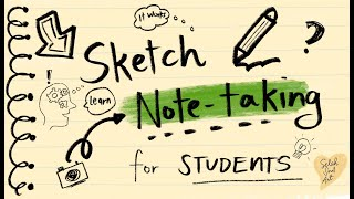 Sketch Note-taking for Students | Analog and Digital | Selah Soul Art