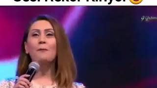 Azeri Kadının Sesi Rekor Kırıyor 😍😍😍