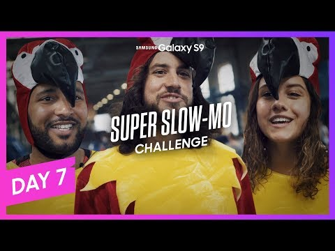 Samsung Galaxy S9 Super Slow-Mo Challenge  EP7: I believe I can fly
