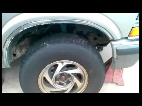 How to remove starter Chevy blazer trailblazer tru - YouTube