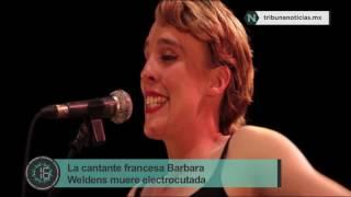 La cantante francesa Barbara Weldens muere electrocutada en pleno concierto