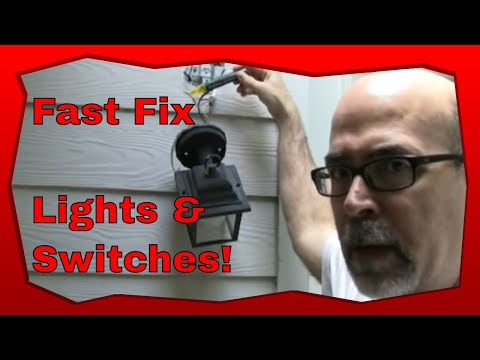 How To Troubleshoot Light Switches and Light Switch Wiring Home Wiring Light Switch on
