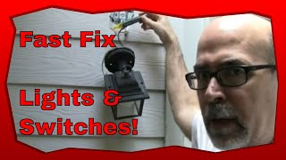 How to install a photocell switch (Dusk to Dawn switch)
