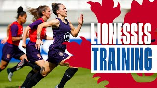 Lionesses Look Solid Ahead of Argentina Clash! | England v Argentina | Inside Training | Lionesses