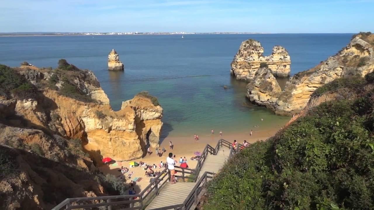 Португалия, Наикрасивейший Берег и Пляж Европы, Лагуш