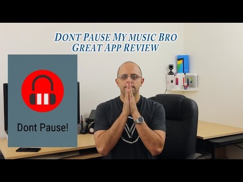 Stop notification from disturbing your music with dont Pause