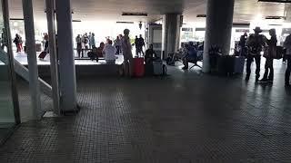Как добраться с аэропорта Салоники до автовокзала в Волос и другие населенные пункты. Греция.