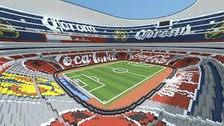 Minecraft MEGABUILD Estadio Azteca Mexico DOWNLOAD