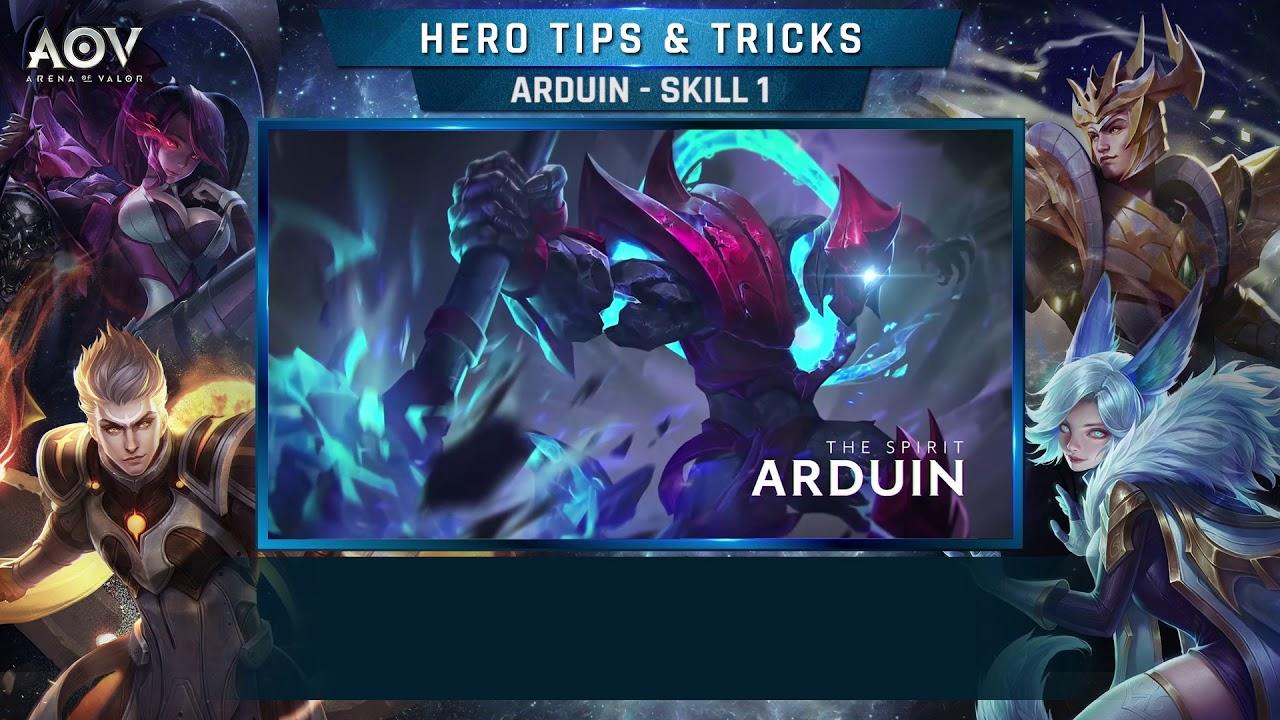 Skill Guide Series Arduin Skill  Garena Aov Arena Of Valor
