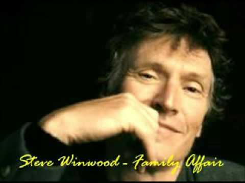 Steve Winwood   Family Affair From the album  'Junction Seven' low
