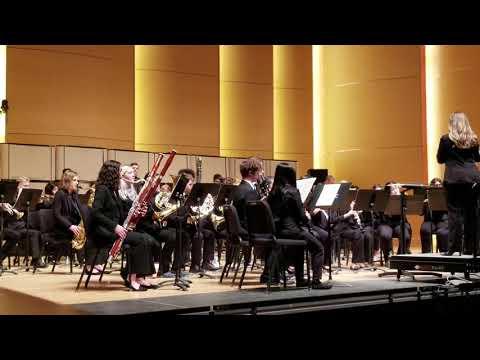 Auburn Riverside High School's Wind Ensemble at Central Washington University WindFest