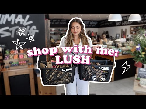LUSH Shop With Me + LUSH GIVEAWAY!!!