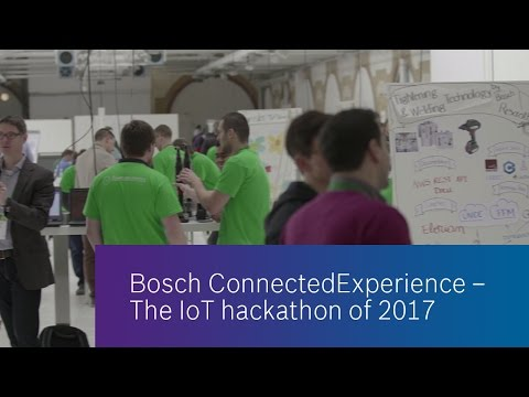 Bosch ConnectedExperience 2017 - Highlights of Day 1