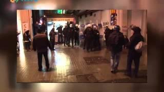 Taksim'de polisle vatandaş arasında ilginç diyalog (12 Mart 2014)
