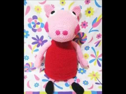 Patron Amigurumi Peppa Pig Grande : PEPPA PIG AMIGURUMI PATRoN GRATIS - YouTube
