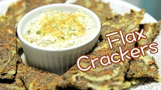 Flax Crackers | Rule of Yum recipe