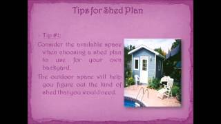 Best Shed Plans