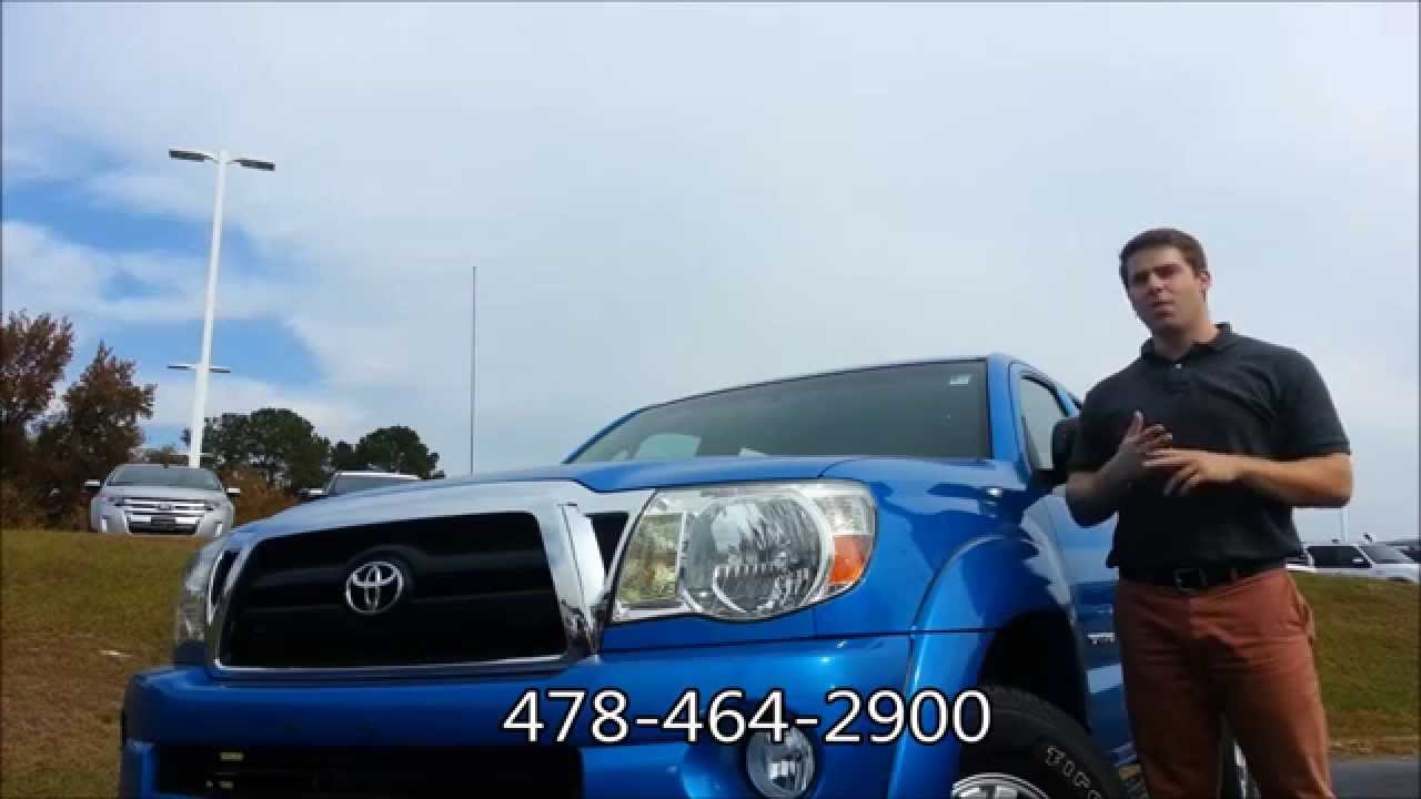 Riverside Ford Macon >> 2008 Toyota Tacoma SR5 4x4 #14T571A1 at Riverside Ford Lincoln in Macon, GA - YouTube
