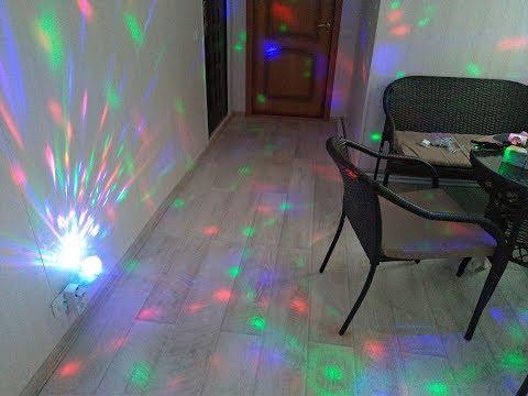 Диско-лампа (LED)