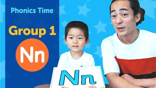 Group 1: Nn | Phonics Time with Masa and Junya | Made by Red Cat Reading