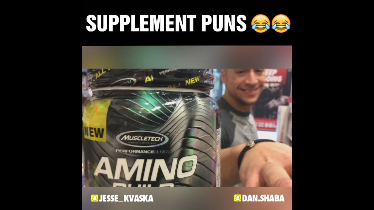 Supplement Puns! - YouTube