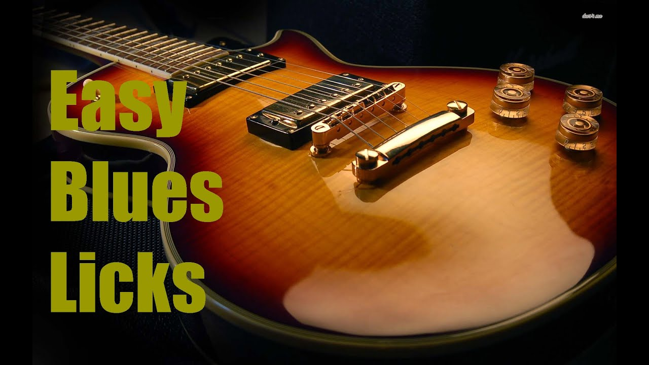 lezioni di blues per chitarra blues licks semplicissimi easy blues licks youtube. Black Bedroom Furniture Sets. Home Design Ideas