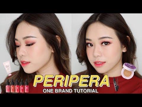PERIPERA ONE BRAND TUTORIAL & REVIEW | KOREAN MAKEUP BRAND