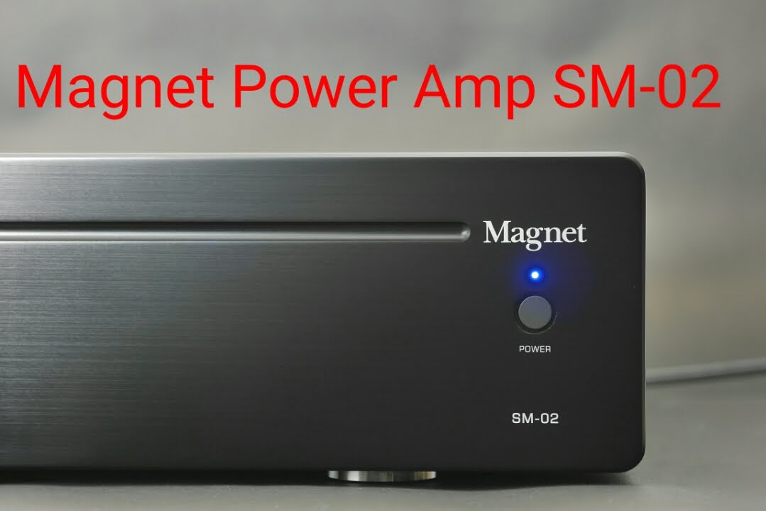 EP3 Magnet SM 02 New Power Amp