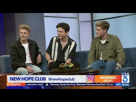 """New Hope Club on their New Single """"Crazy"""""""