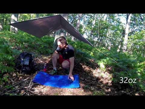 Northern County Trail - solo camp 2017