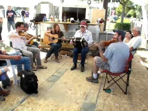 Cajun Music Jam at Black Pot Music Festival, La  2010
