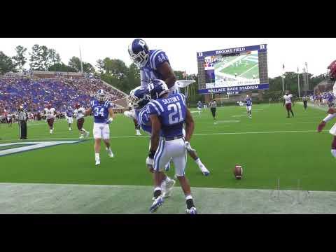 Duke Football versus