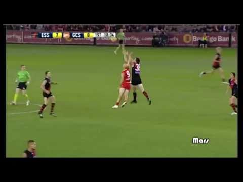 Essendon Score the greatest ever quarter time score