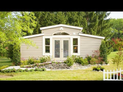 The Med Cottage House Aka Granny Pod Lovely Tiny House Youtube