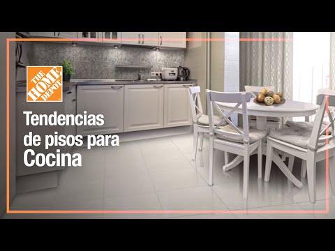 Tendencia de piso para cocina youtube for Piso de concreto cera cocina