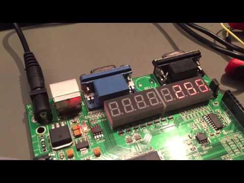 DMX on FPGA experimentation