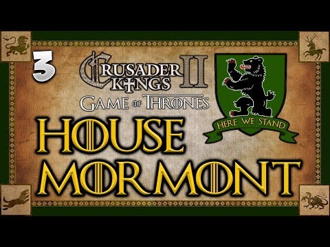 THE ONE HANDED BEAR! Game of Thrones - Seven Kingdoms Mod - Crusader Kings 2 Multiplayer #3