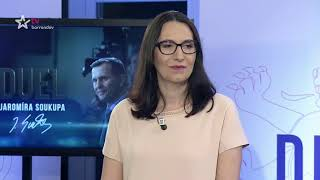 Klára Dostálová a Alexandra Udženija / Duel Jaromíra Soukupa (5.4.2018)